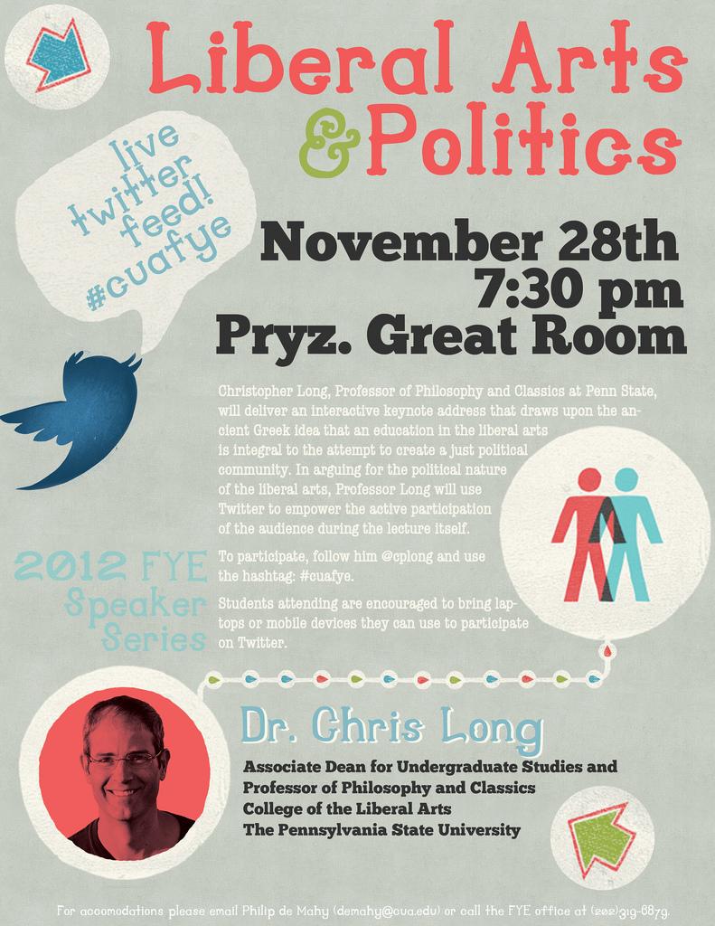 Keynote Address: Liberal Arts and Politics