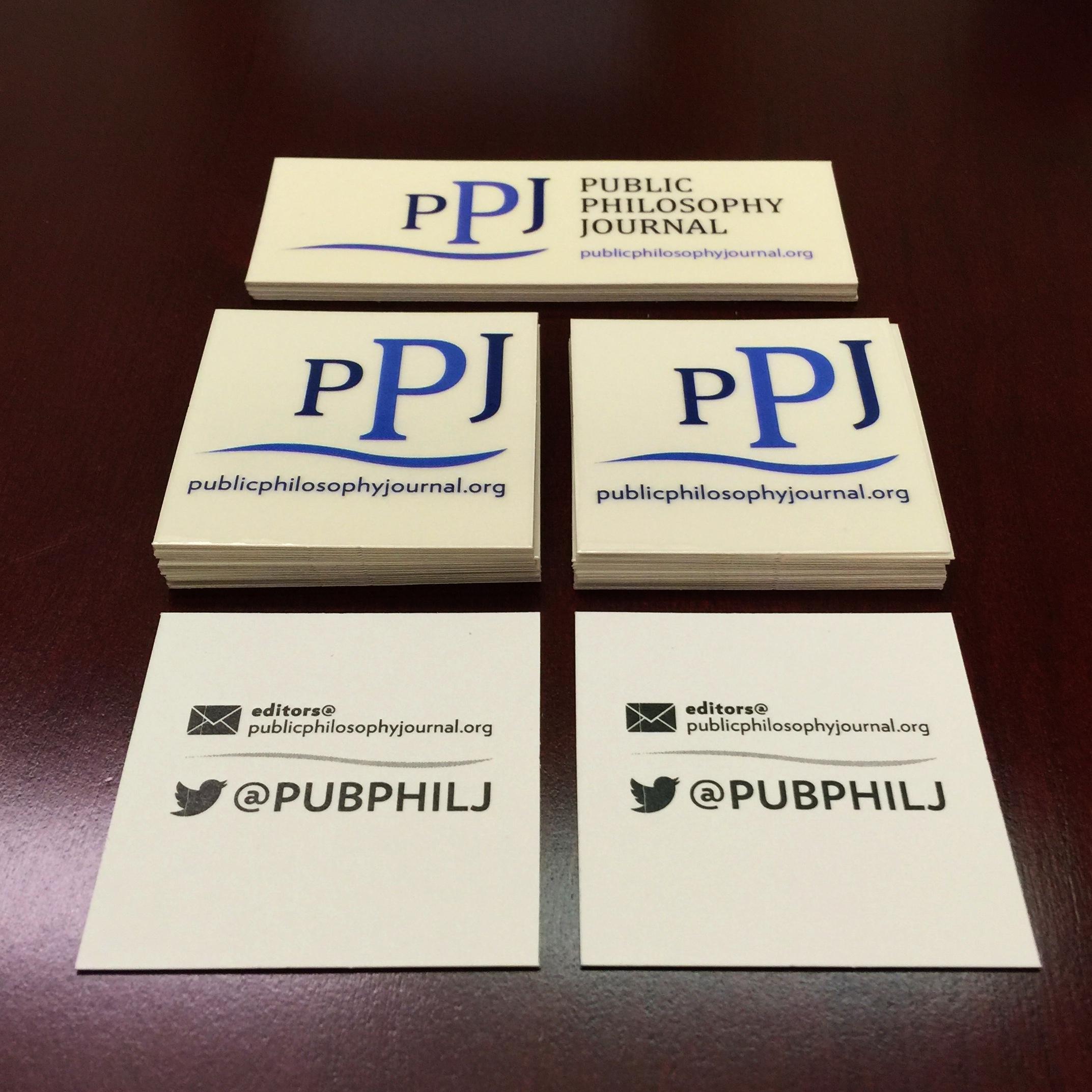 Public Digital Scholarship: The @PubPhilJ at the #APAEastern