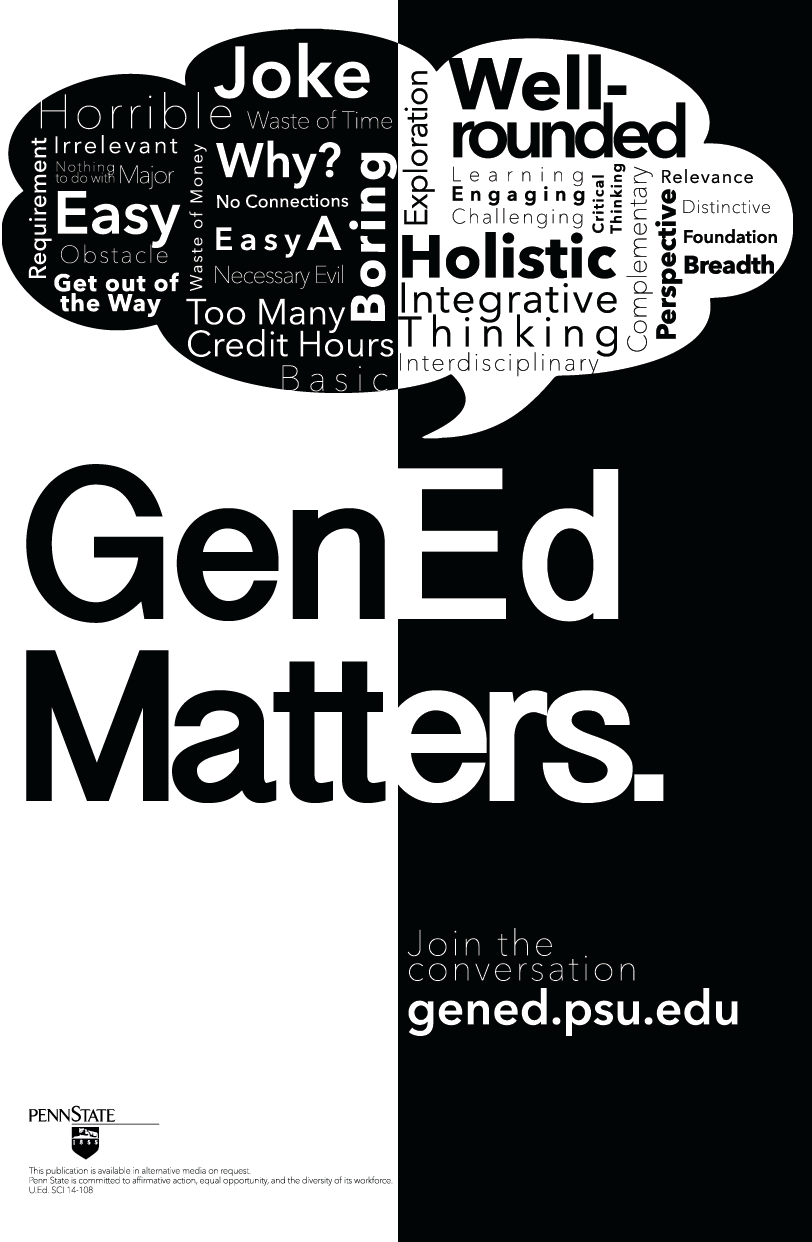 General Education Reform at Penn State