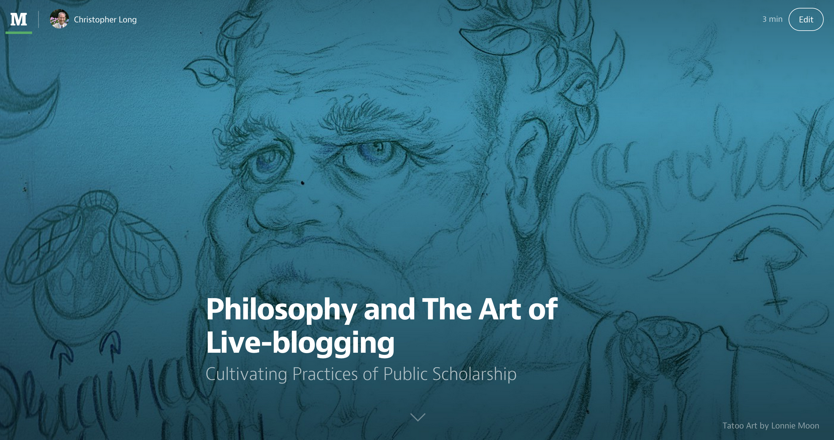 Philosophy and the Art of Live-Blogging